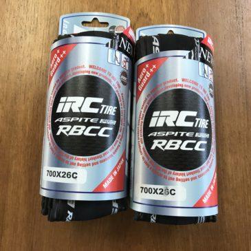 IRC TIRE ASPITE PRO RBCC 入荷しました。