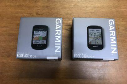 新発売 GARMIN「Edge530/830」入荷しました!!