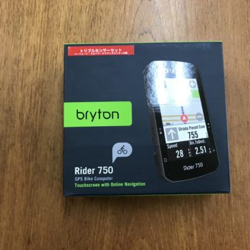 bryton Rider750 入荷しました。